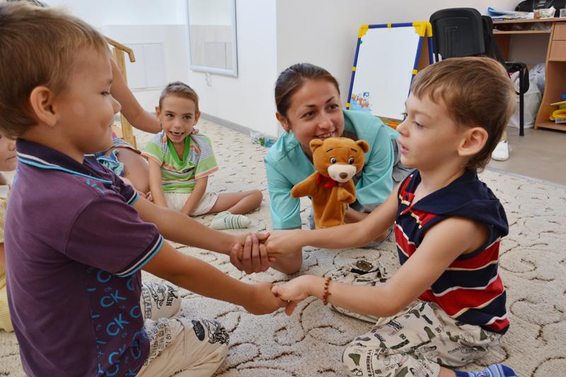 Занятия с детьми ОВЗ
