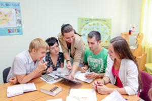 Французский язык групповое обучение